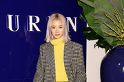 Model Irene Kim attends the Ralph Lauren fashion show during New York Fashion Week: The Shows on February 12, 2018 in New York City.
