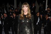 """Jennifer Flavin attends the screening of """"Rambo - First Blood"""" during the 72nd annual Cannes Film Festival on May 24, 2019 in Cannes, France."""