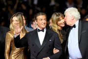 """Sylvester Stallone attends the screening of """"Rambo - First Blood"""" during the 72nd annual Cannes Film Festival on May 24, 2019 in Cannes, France."""