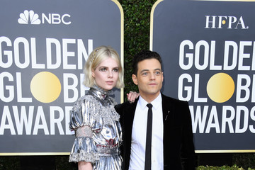 Rami Malek Lucy Boynton 77th Annual Golden Globe Awards - Arrivals