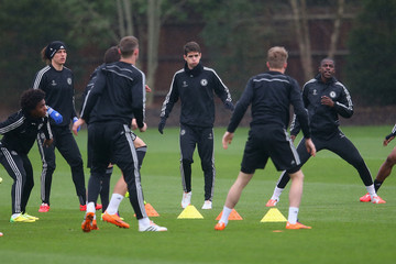 Ramires Chelsea Training Session
