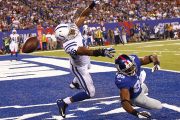 Ramses Barden Indianapolis Colts v New York Giants