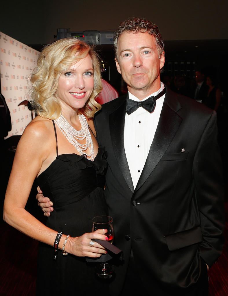 Rand Paul with beautiful, Wife Kelley Ashby