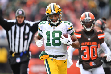 Randall Cobb Green Bay Packers v Cleveland Browns