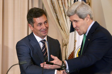 Randy Berry John Kerry Meets with LGBT Special Envoy