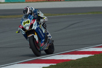 Randy De Puniet FIM Superbike World Championship - Qualifying
