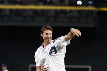 Randy Johnson San Francisco Giants v Arizona Diamondbacks