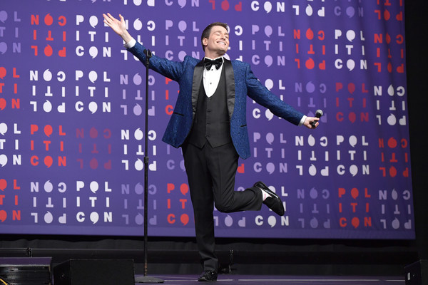 Politicon 2019 – Day 2 [performance,talent show,event,stage,performing arts,suit,tuxedo,formal wear,politicon 2019,music city center,nashville,tennessee,randy rainbow]