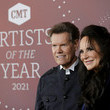 Randy Travis 2021 CMT Artist of the Year - Red Carpet