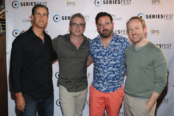 Guests Arrive at SeriesFest: Season One - Showrunner Panel