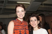 Kristen Connolly and Odile Benjamin attend the Raoul presentation during Mercedes-Benz Fashion Week Spring 2014 at Highline Stages on September 12, 2013 in New York City.