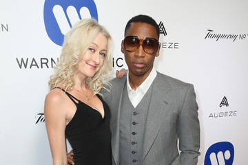 Raphael Saadiq Warner Music Group Hosts Annual Grammy Celebration - Red Carpet