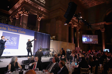 Rashad Jennings Muscular Dystrophy Association Celebrates 22 Years Of Annual New York Muscle Team Gala With MVP Derek Jeter And More