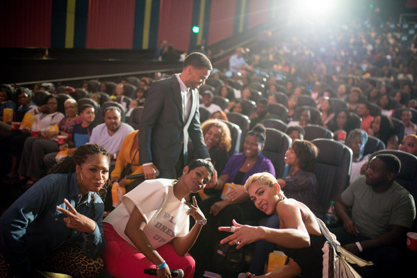 'The Intruder' Atlanta Red Carpet Screening With Michael Ealy, Meagan Good, And Deon Taylor At Regal Atlantic Station