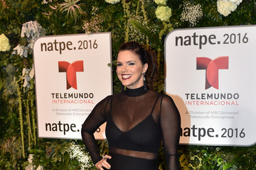 Rashel Diaz Telemundo NATPE Party Red Carpet Arrivals