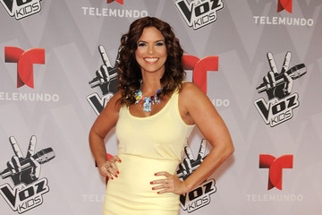Rashel Diaz La Voz Kids Grand Finale - Red Carpet Arrivals