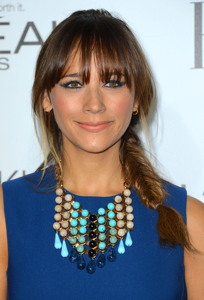 Braid of the Day: Use This Product to Get Rashida Jones' Adorable Fishtail Braid