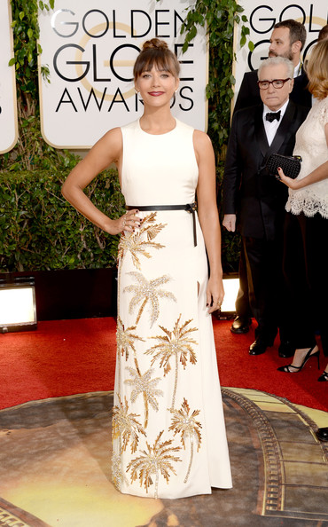 Rashida Jones - 71st Annual Golden Globe Awards - Arrivals