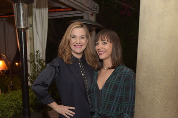 Rashida Jones Equipment and Vanity Fair Dinner Hosted by Rashida Jones and Krista Smith