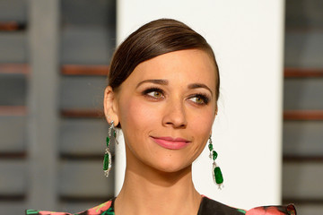 Rashida Jones Arrivals at the Elton John AIDS Foundation Oscars Viewing Party — Part 5
