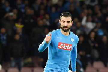 Raul Albiol SSC Napoli v Real Madrid CF - UEFA Champions League Round of 16: Second Leg