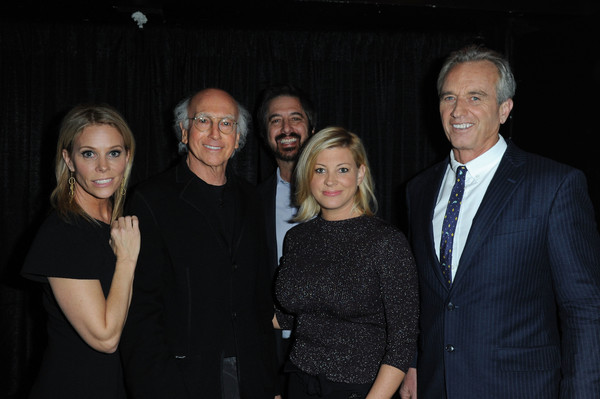 Keep It Clean to Benefit Waterkeeper Alliance [event,fun,photography,smile,night,formal wear,guest,ray romano,cheryl hines,larry david,robert kennedy jr.,l-r,los angeles,california,waterkeeper alliance,keep it clean to benefit waterkeeper alliance]
