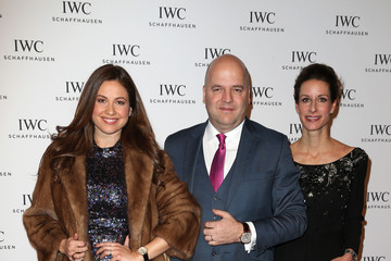 Raya Abirached Franziska Gsell IWC Schaffhausen at SIHH 2016 - 'Come Fly With Us' Gala Dinner