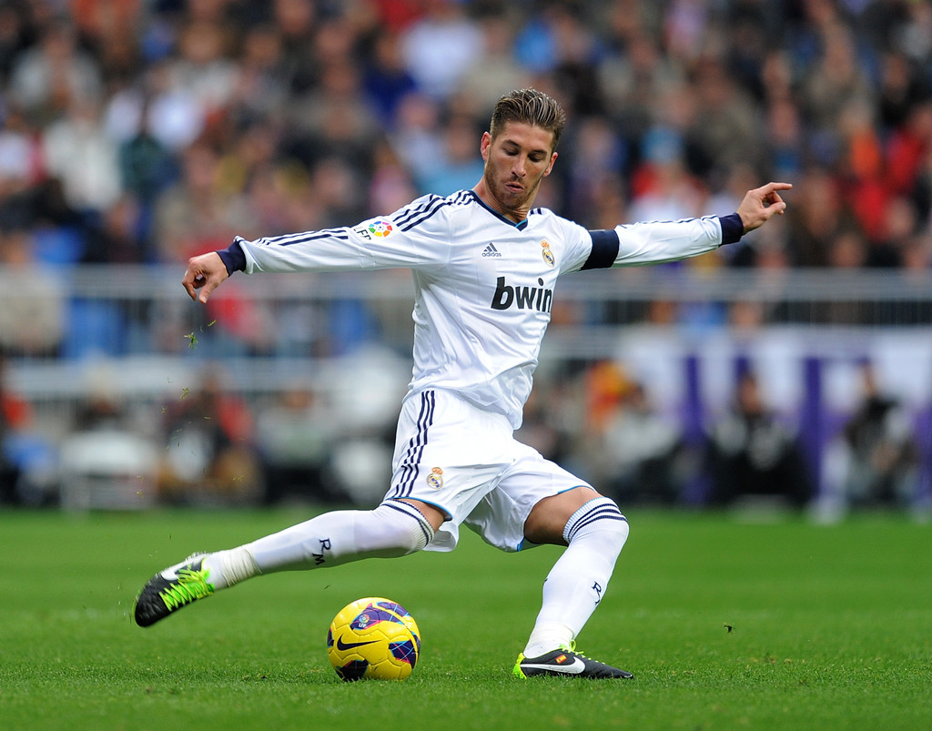 Sergio ramos in real madrid cf v getafe cf la liga 3 of - Sergio madrid ...
