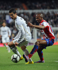 Gregory Real Madrid v Sporting Gijon - La Liga
