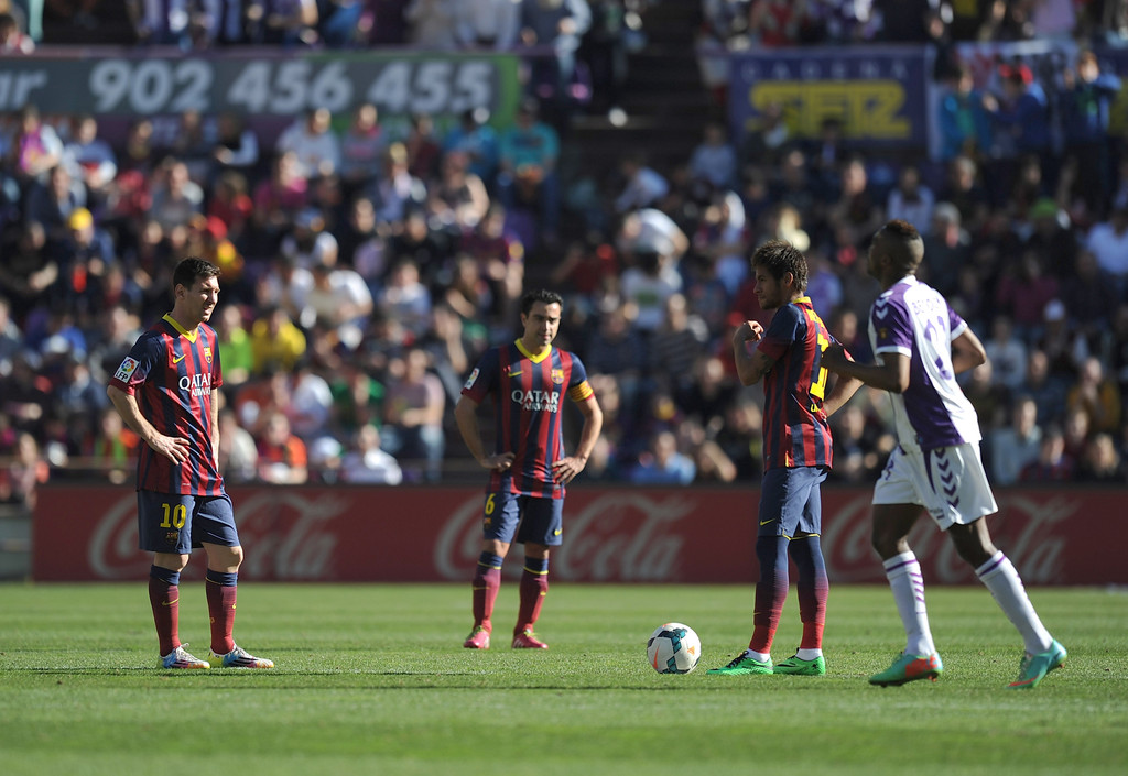 barcelona vs valladolid - photo #49