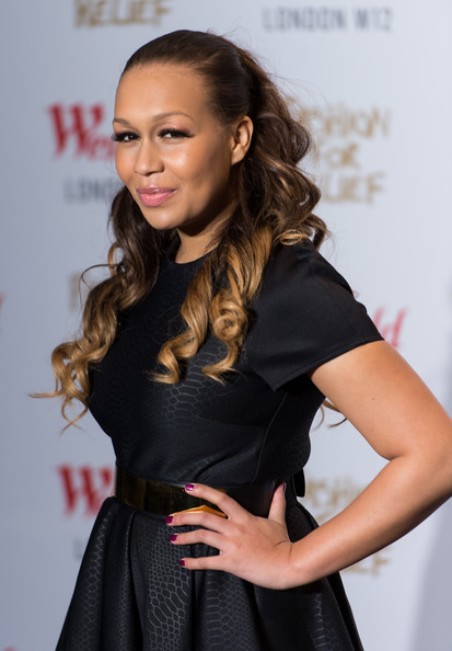 Rebecca ferguson pictures naomi campbell fashion for relief pop up