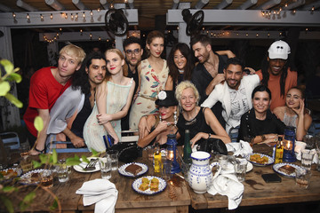 Rebecca Fourteau Soho Beach House & Ellen von Unwerth Tableaux Vivants: Decadence. Deviance. Dinner. During Art Basel Miami 2015