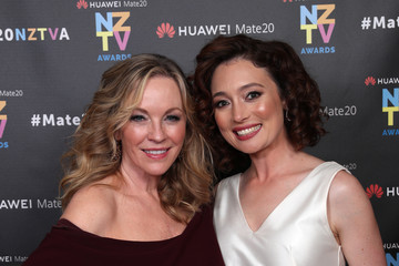 Rebecca Gibney 2018 Huawei Mate20 New Zealand Television Awards - Backstage