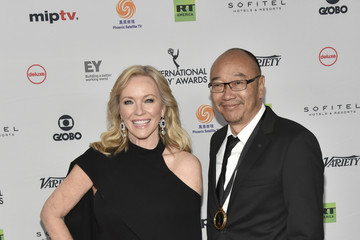 Rebecca Gibney International Emmy Awards Red Carpet