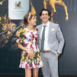 Rebecca Harding Celebrities Attend 2019 Stakes Day