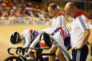 Rebecca James UCI Track Cycling World Championships: Day 3