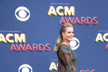 Rebecca Romijn 53rd Academy Of Country Music Awards - Arrivals