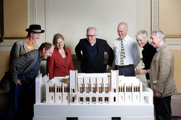Rebecca Salter Architect Sir David Chipperfield Announces Launch of Redevelopment Plans For the Royal Academy Of Arts