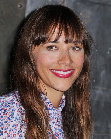 Rashida Jones in Rebecca Taylor - Backstage - Mercedes ...