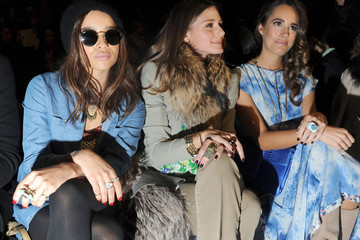 Olivia Palermo Louise Roe Rebecca Taylor - Front Row - Fall 2012 Mercedes-Benz Fashion Week