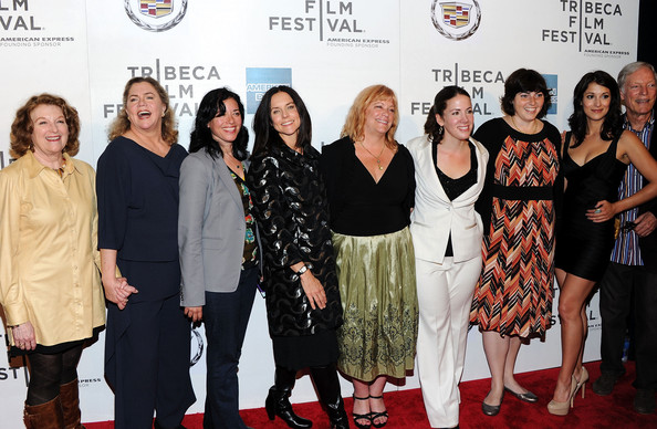 "Premiere Of ""The Perfect Family"" At The 2011 Tribeca Film Festival [the perfect family,red carpet,event,premiere,carpet,fashion,flooring,fashion design,rebecca wackler,anne renton,connie cummings,jennifer dubin,kathleen turner,l-r,2011 tribeca film festival,premiere,premiere]"
