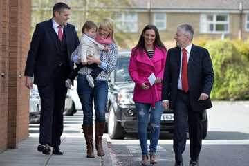 Rebekah Robinson Peter Robinson Casts His Vote As The UK Goes to the Polls