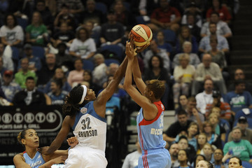 Rebekkah Brunson Atlanda Dream v Minnesota Lynx