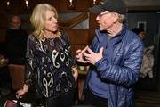 """Rory Kennedy and Ron Howard attend the """"Rebuilding Paradise"""" Sundance Premiere Reception at Tupelo on January 24, 2020 in Park City, Utah."""