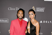 Miguel and Nazanin Mandi attend The Recording Academy And Clive Davis' 2019 Pre-GRAMMY Gala at The Beverly Hilton Hotel on February 9, 2019 in Beverly Hills, California.