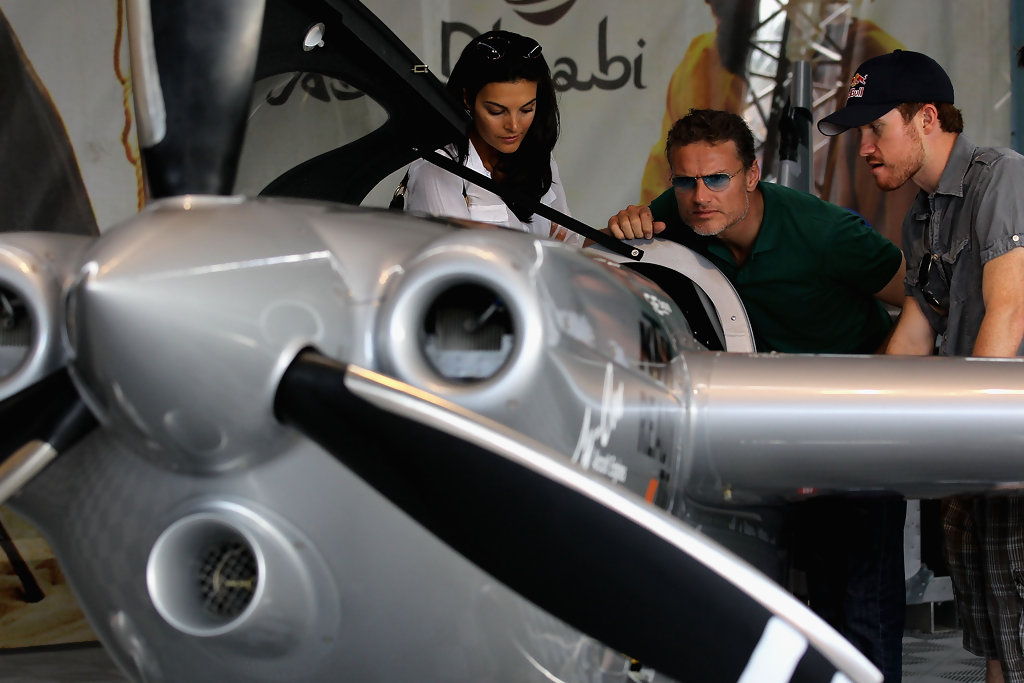 David Coulthard Photos Photos - Red Bull Air Race, New York
