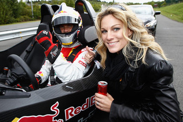Christina Surer Red Bull On Track