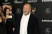 Artist Ai Weiwei arrives at the Bambi Awards 2017 at Stage Theater on November 16, 2017 in Berlin, Germany.
