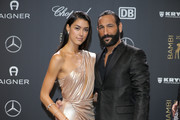 Rebecca Mir and her husband Massimo Sinato attend the 70th Bambi Awards at Stage Theater on November 16, 2018 in Berlin, Germany.