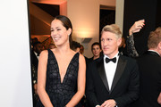 Ana Ivanovic and Bastian Schweinsteiger arrive for the 20th GQ Men of the Year Award at Komische Oper on November 8, 2018 in Berlin, Germany.